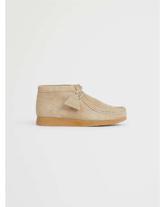 Clarks Clarks Wallabee Boots Beige