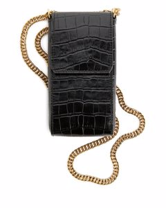 Leather Phone Case Black