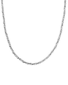Chain Braided Halskette 50 Cm Stahl