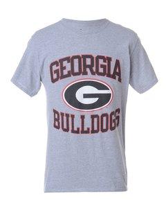 1990s Champion Georgia Bulldogs Football Sports T-shirt