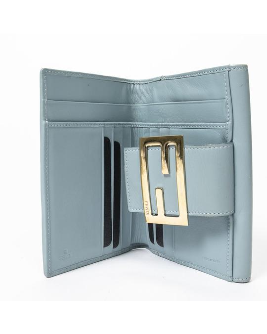 Fendi Trifold Flap Wallet