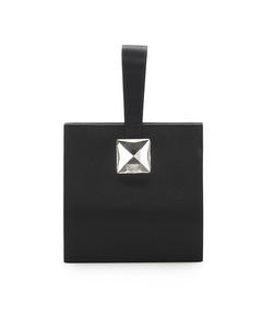 Ysl Satin Handbag Black