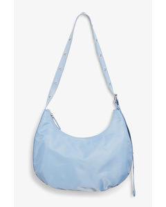Grommet Strap Bag Blue