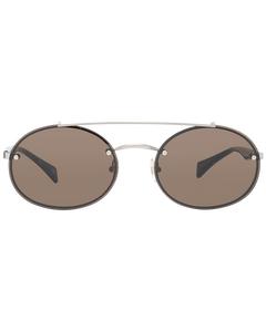 Yohji Yamamoto Mint Unisex Gold Sunglasses Ys7002 56403 56-18-137 Mm