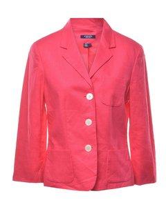 Chaps Pink Blazer - M