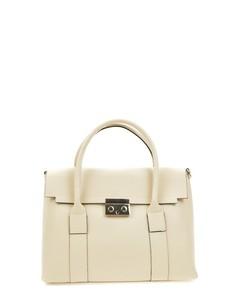 Top Handle Bag Beige