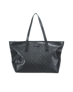 Gucci Gg Imprime Tote Bag Black