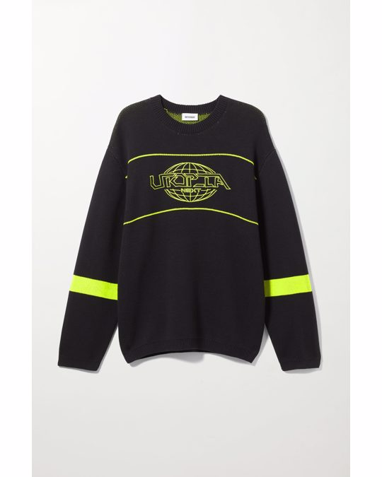 Weekday Jochum Utopia Sweater Black