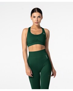 Carpatree Phase Seamless Bra Bottle Green