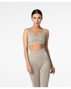 Carpatree Phase Seamless Bra Latte