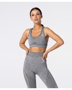 Carpatree Phase Seamless Bra Melange Grey