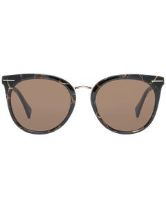 Yohji Yamamoto Mint Women Brown Sunglasses Ys5006 51134 51-19-135 Mm