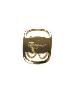 Ferragamo Vara Scarf Ring Gold