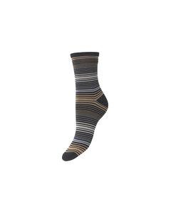 Imma Thin Stripe Sock Night Sky