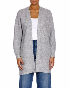 Selected Femme Kofta Lulu Long Grey