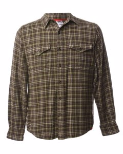 1990s The North Face Checked Shirt