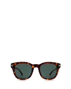 Ft0676 Red Havana Solglasögon