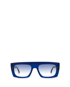 Casswell Tanslucent Dark Blue & Matte Blue Zonnenbrillen