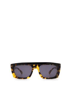 CASSWELL dark caramel & matte black Sonnenbrillen
