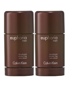 2-pack Calvin Klein Euphoria For Men Deostick 75ml