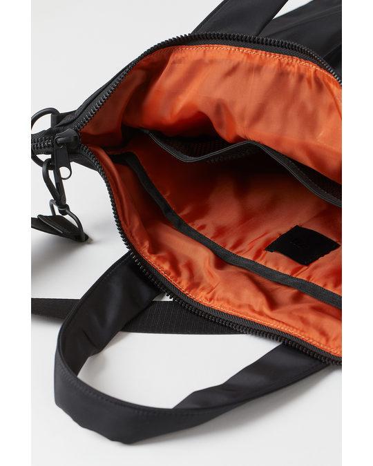 H&M Shoulder-strap Shopper Black