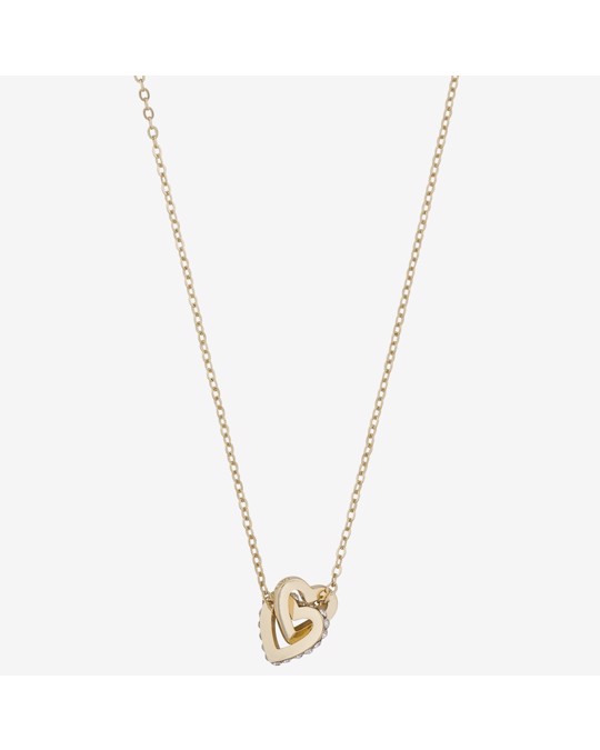 SNÖ of Sweden Connected Pendant Necklace Heart