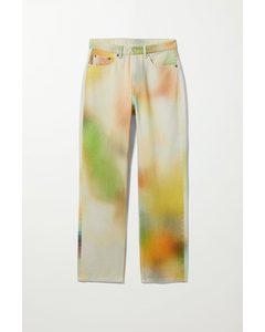 Jeans Voyage mit verschwommenem Farbdesign Verschwommen