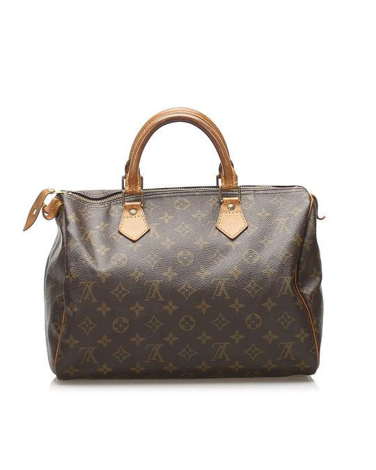 Louis Vuitton Louis Vuitton Monogram Speedy 30 Brown