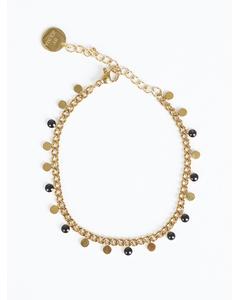 Twiggy Bracelet, Multi Charm Gold