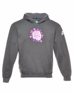 2000s Champion Hooded Sports Sweatshirt