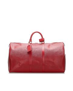 Louis Vuitton Epi Keepall 50 Red