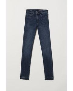 Shaping Skinny Regular Jeans Donkerblauw