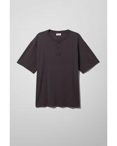 Henley-Shirt Teodor Schwarz