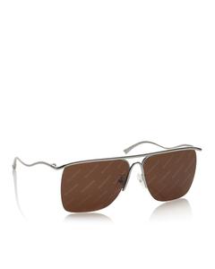 Balenciaga Square Tinted Sunglasses Brown