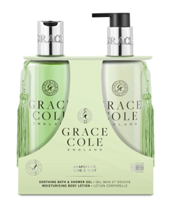 Grace Cole Grapefruit Lime & Mint Body Care Duo Set