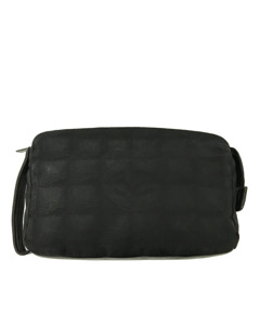 Chanel New Travel Line Pouch Black