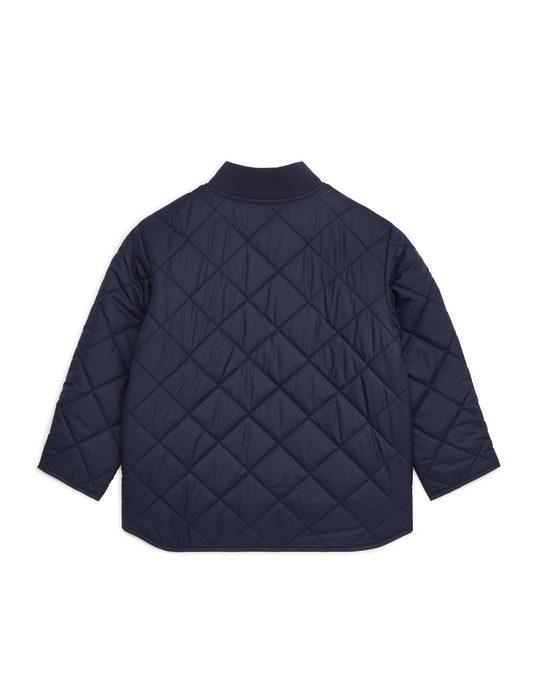 Arket Quilted Insulator Jacket Dark Blue