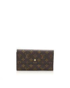 Louis Vuitton Monogram Porte Tresor International Brown