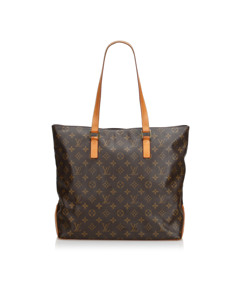Louis Vuitton Monogram Cabas Mezzo Brown