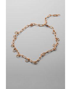 Norma Necklace Golden