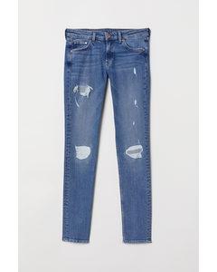 Skinny Low Jeans Hellblau/Trashed