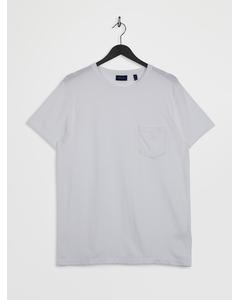 D2. Pique Ss T-shirt White