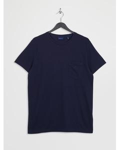 D2. Pique Ss T-shirt Evening Blue