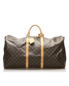 Louis Vuitton Monogram Keepall 60 Brown