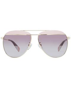 Furla Mint Women Gold Sunglasses Sfu236 590323 59-13-138 Mm
