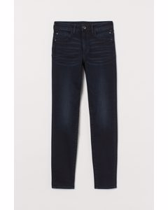 Push-up shaping High Jeans Dunkelblau