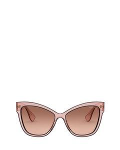 Mu 08vs Pink Transparent Solglasögon