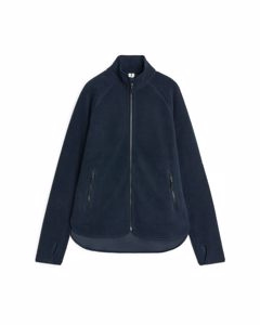 Fleece Zip Jacket Dark Blue