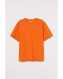 COOLMAX® T-Shirt Relaxed Fit Orange