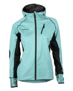 Thermic Hood Jacket Women Turquoise/black